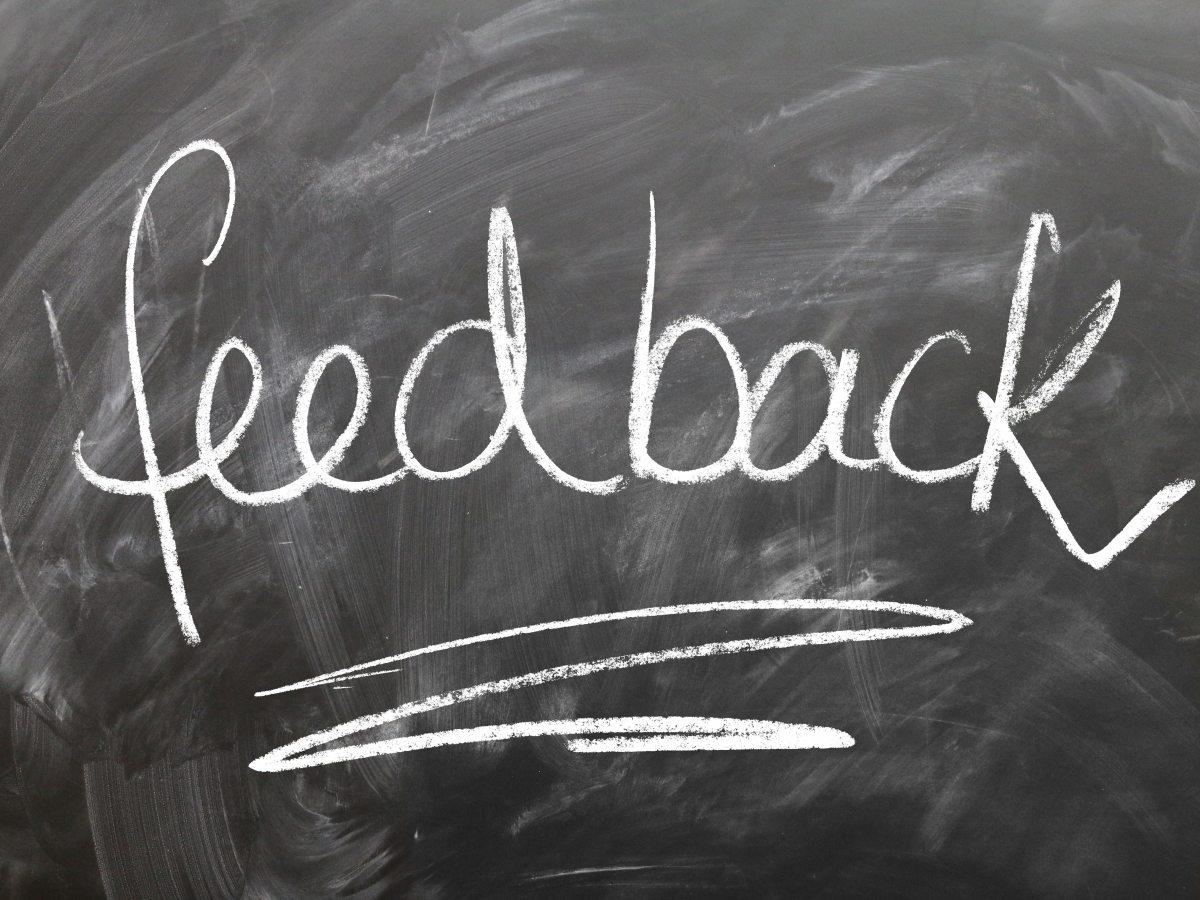 Performance reviews give feedback